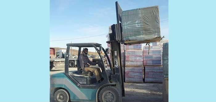 لیفتراک بائولی در بازارچه مرزی